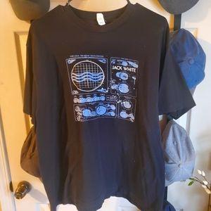 Jack White band t-shirt